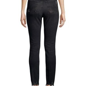 Ag Adriano Goldschmied Jeans - AG Jeans Sophia High-Rise Washed Straight-Leg Jean